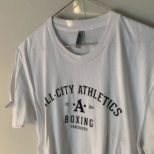 All city athletics tee